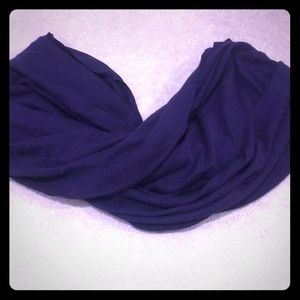 Dark purple Infiniti scarf